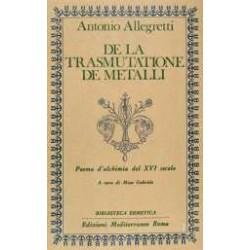 De La Trasmutatione De'...